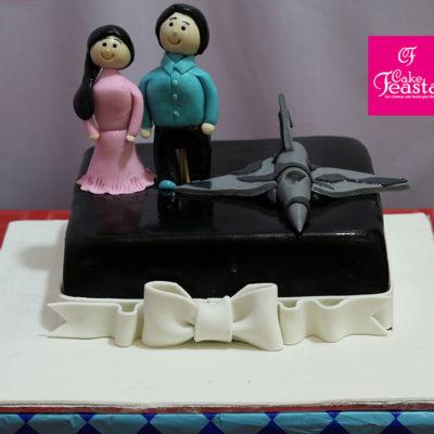 Air Force Anniversary Cake