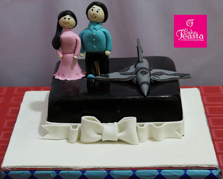 Air Force Anniversary Cake Marriage Anniversary Cake