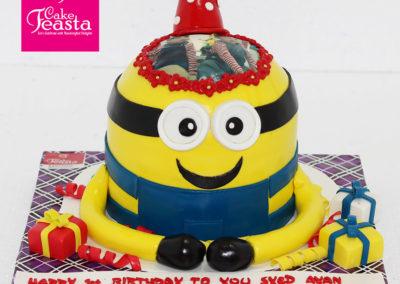 Minion Picture Kids Birthday Cake