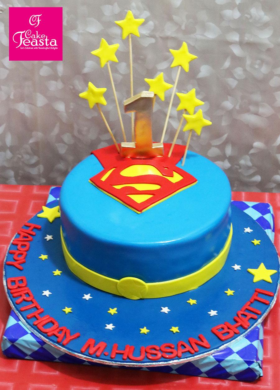 Superman Wedding Anniversary Cakes