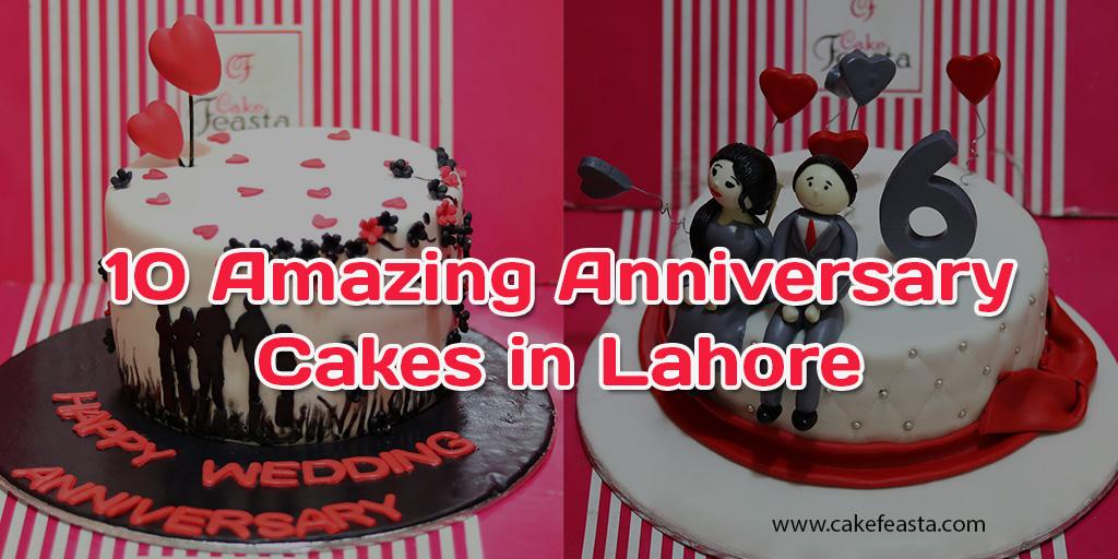 10 Amazing Anniversary Cakes In Lahore Wedding Anniversary Cakes