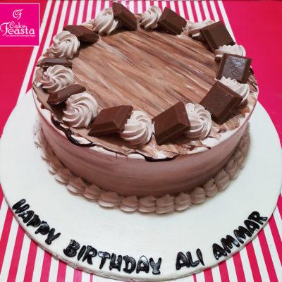 Cadbury Cream Cake