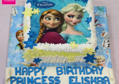 Elsa Picture Girls Birthday Cake