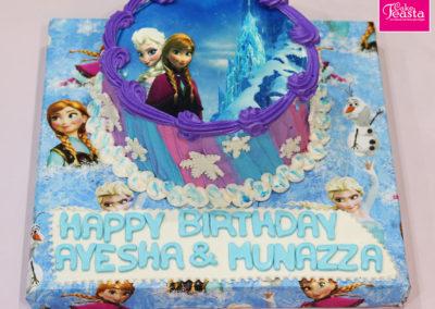 Frozen Elsa Picture Cake