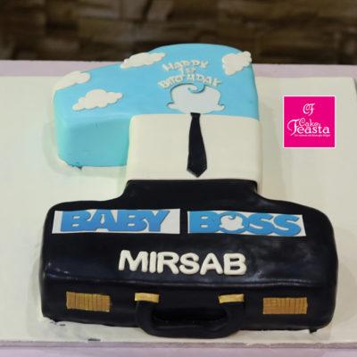 Baby Boss Digit Birthday Cake