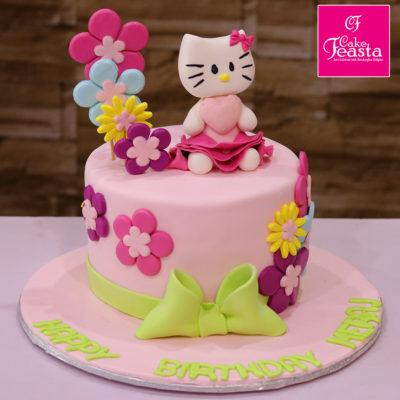 Beauty The Kitty Birthday Cake