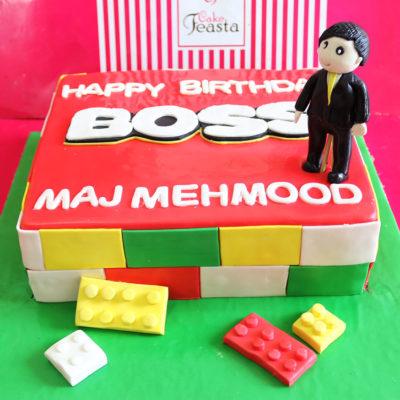 Boss Birthday Cake For Boss