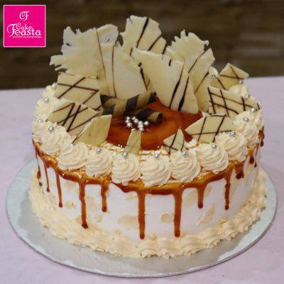 Caramel Crunch Cream Signature Cake