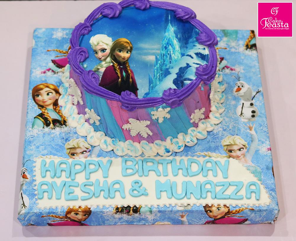 Ferozan Picture Birthday Cake