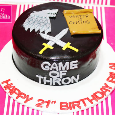 Game Of Thrones Lovers Birthday Cake