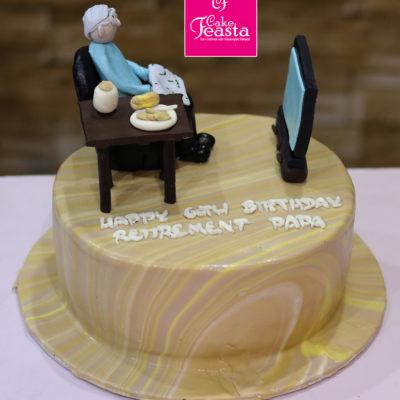 Grand Paa Birthday Cake