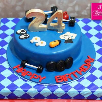 Gym Lovers Birthday Cake