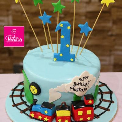 Kids Train Birthday Cakes