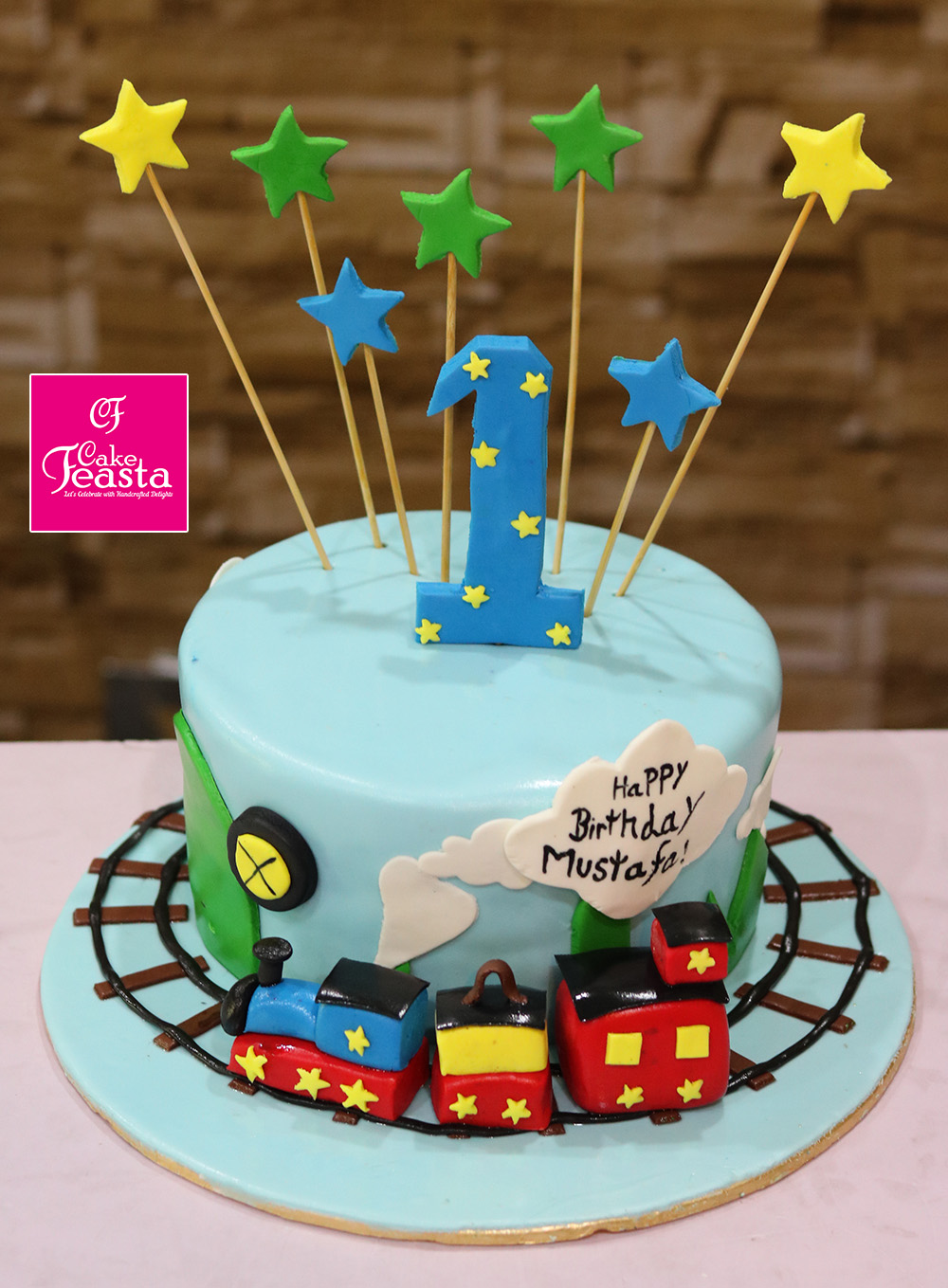 Kids Train Birthday Cakes Customized Cakes In Lahore