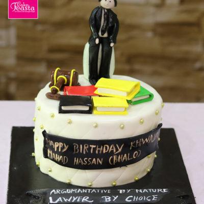 Lawyer Birthday Cake