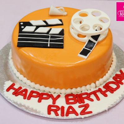 Movies Lovers Birthday Cake