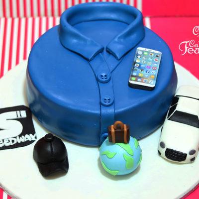 Mr. Perfect Birthday Cake