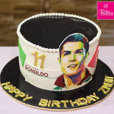 Ronaldo Lovers Birthday Cake