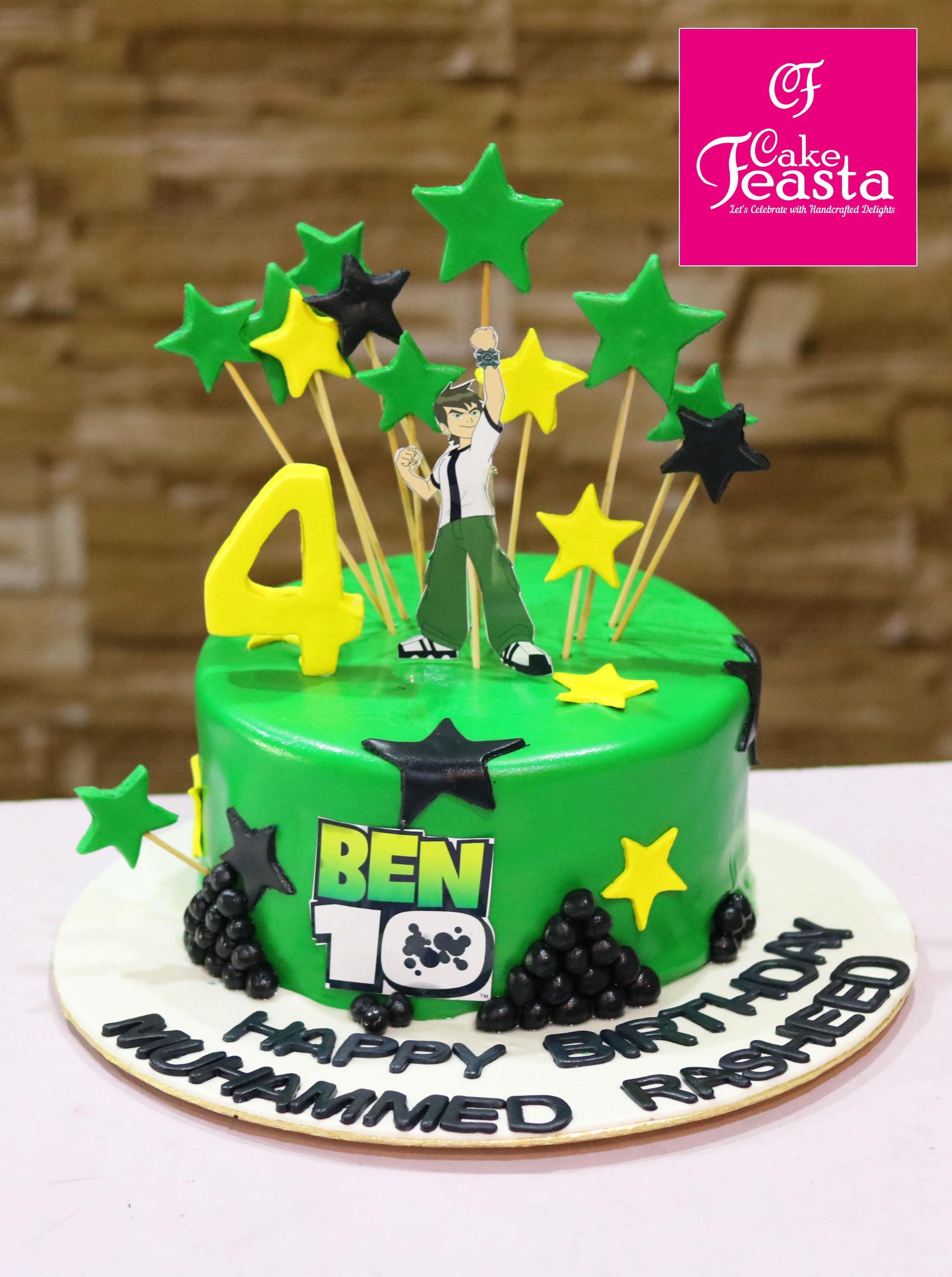 Ben Ten Kids Birthday Cake