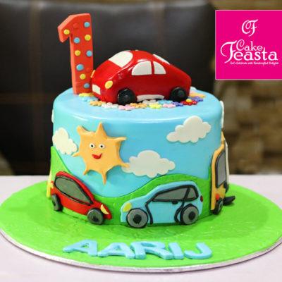Cars For Kids Birthday Cake
