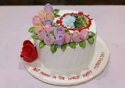 Mother's Day Picture Cake