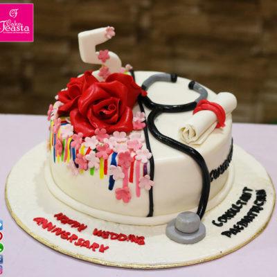 Anniversary-Graduation Cake