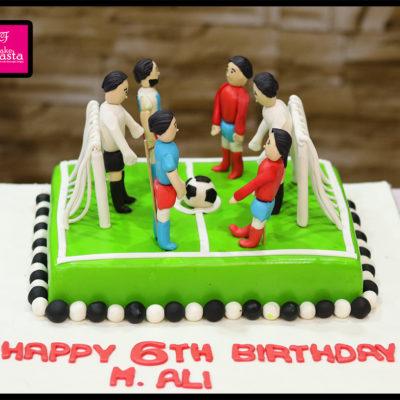 FootBall Lovers Birthday Cake
