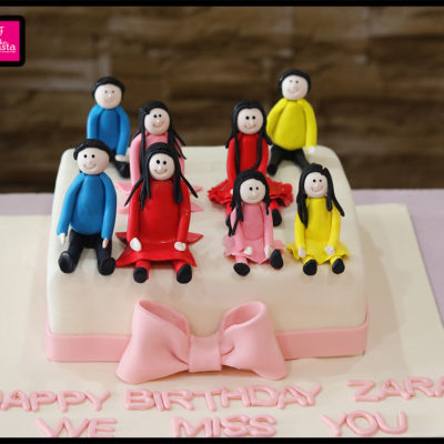 We Are family Cake 2