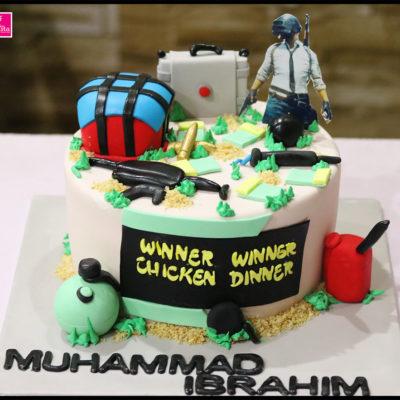 PUBG Lovers Birthday Cake