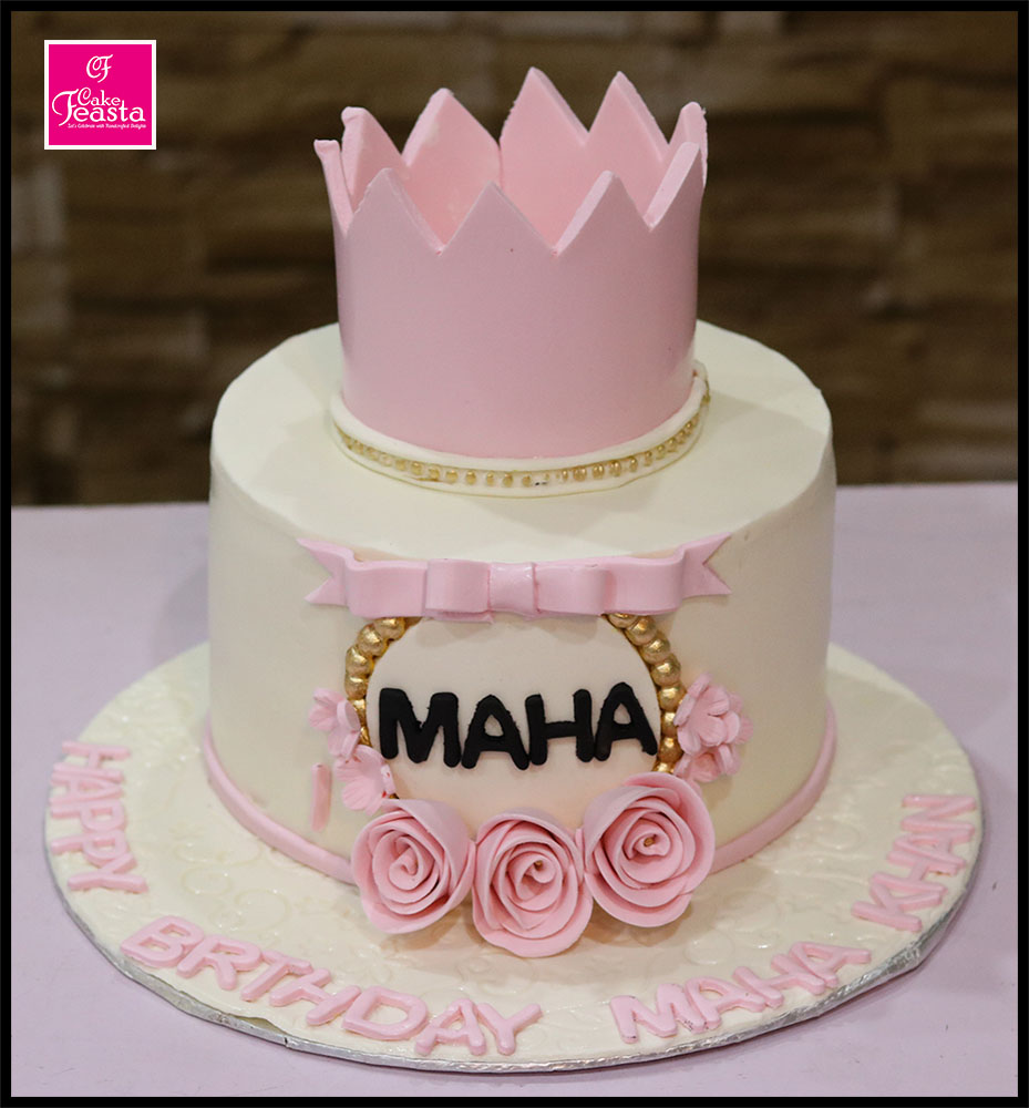 Princess Girls Birthday Cake Fondant Cakes In Lahore