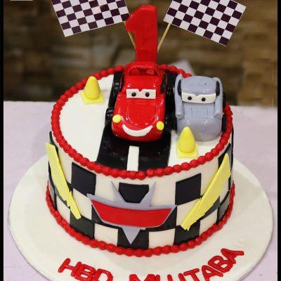 Cars 3 Kids Birthday Cake