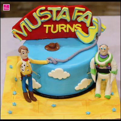 Toy Story Kids Birthday Cake
