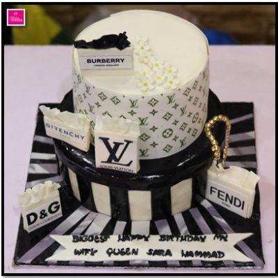 Brands Theme Birthday Cake