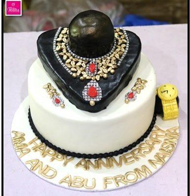 Necklace Theme Birthday Cake