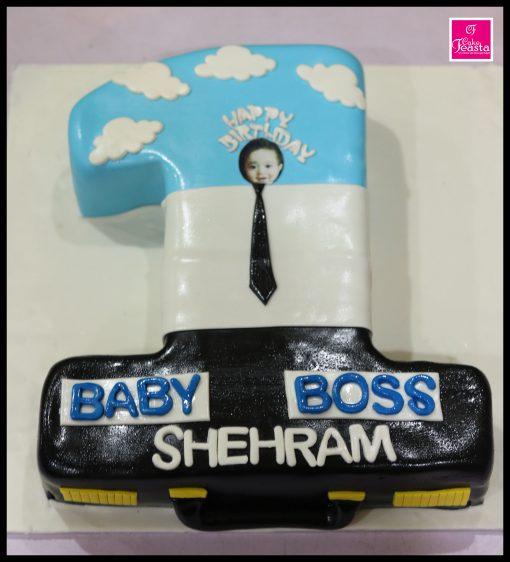 Baby Boss Kids Birthday Cake
