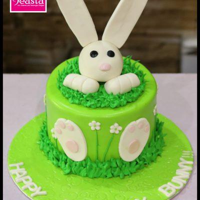 Bunny Kids Birthday Cake