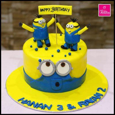 Minnions Kids Birthday Cake