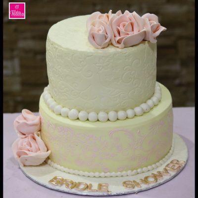 Bridle Shower Wedding Cake