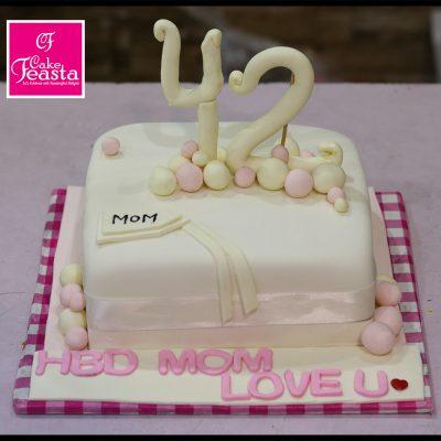 Lovely Mother Birthday Cake