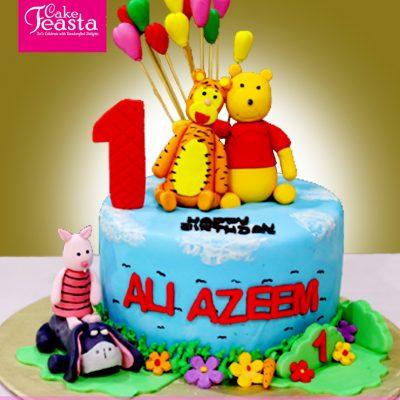 Kids'-1st-Birthday-Cake