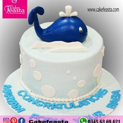 Blue-Fish-Birthday-Cake