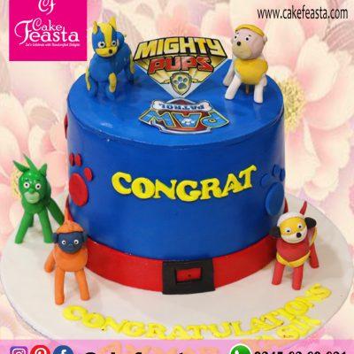 Mighty-Pups-Theme-Birthday-Cake