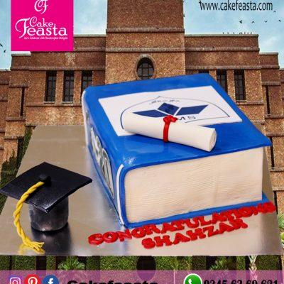 LMS Graduation Cake