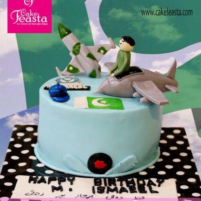 PAF Theme Birthday Cake
