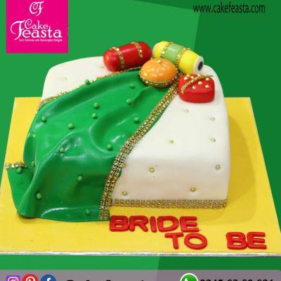 Bride To Be Theme Cake