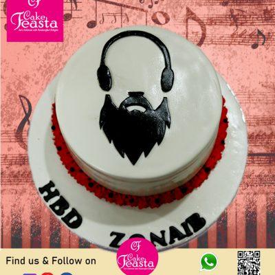 Music Lover Theme Birthday Cake