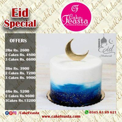 Night View Eid Cake