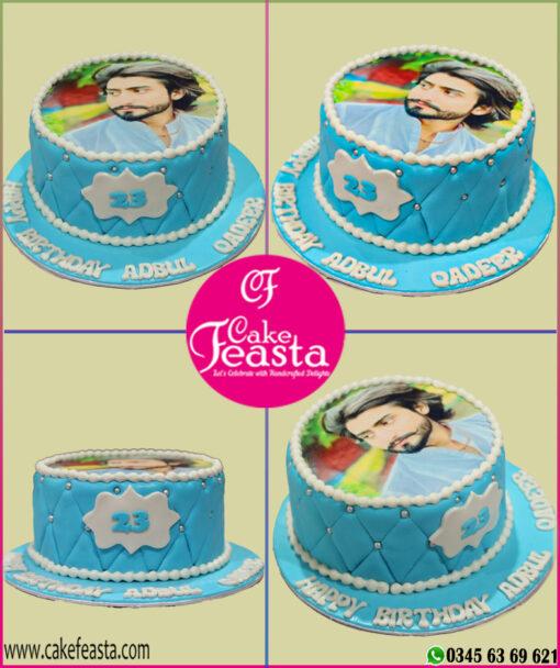 Picture Theme Birthday Cake
